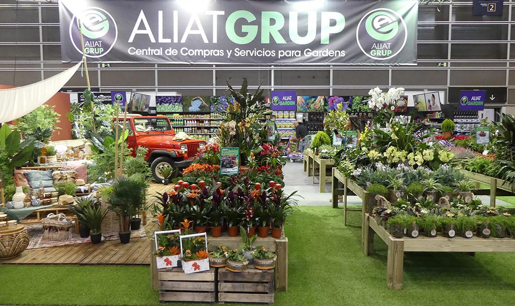 Aliatgrup vuelve a montar un impresionante garden en for Central de compras web opiniones