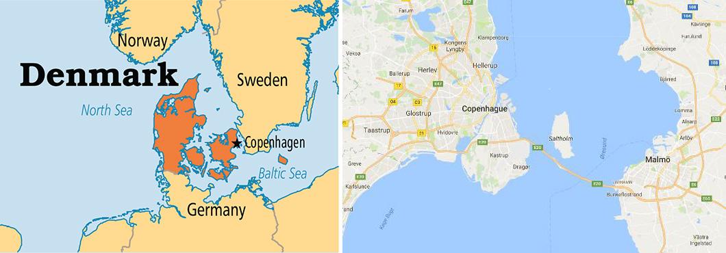 1 denmark map
