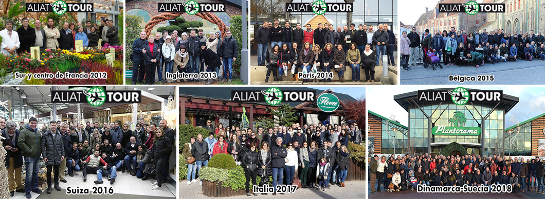 viatges aliat tour fins 2018
